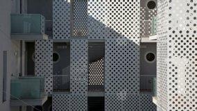 Edifici sostenibili: Case a ballatoio a Lecce
