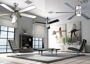 Orieme: ventilatori a soffitto