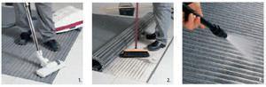 pulizia del tappeto tecnico kadett della Emco SpA