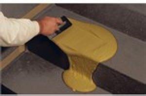 stesa di Calpestina (Ghirotto Tecnologie Edili) - foto estratta dal volantino del prodotto