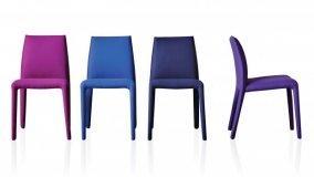 Cromoterapia con le sedie colorate di design