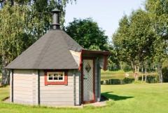 Sauna in giardino