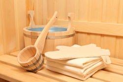 Accessori nella sauna