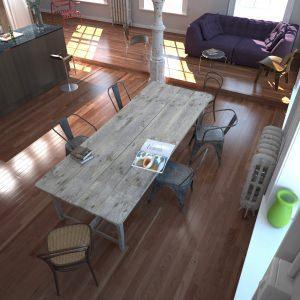 illuminazione diretta dentro casa