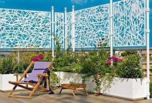 Divisori verdi for Divisori per terrazzi