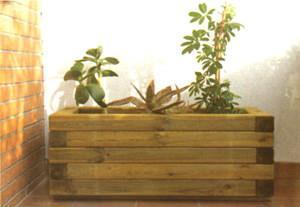 Fioriera da balcone - Fioriere in legno leroy merlin ...