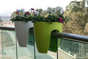 vaso da balcone, greenbo