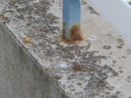 corrosione di un profilo tubolare