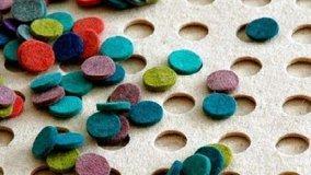 Cura e personalizzazione tappeto in feltro