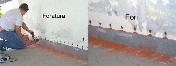 Metodi di risanamento umidit - Umidita muri esterni casa ...