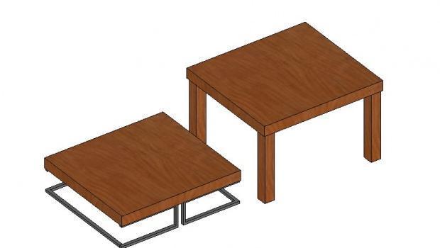 Ristrutturare e trasformare un tavolo - Ristrutturare tavolo in legno ...