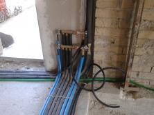 collettore impianto idronico