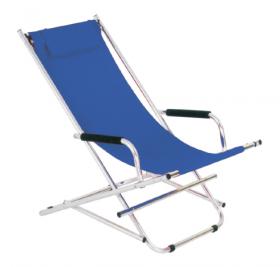 scegliere le sedute: una sedia a sdraio