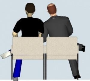 scegliere le sedute:una postura errata
