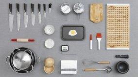 Posizione utensili da cucina