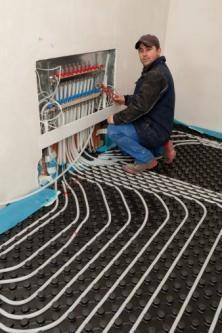 valvole impianto a pavimento