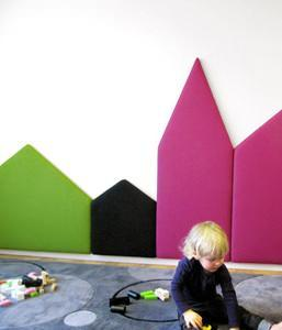 Pannelli per ridurre i rumori - Pannelli decorativi fonoassorbenti ...
