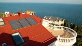 Pannelli solari e calcare