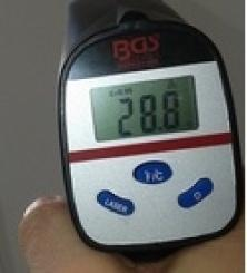 display termometro laser