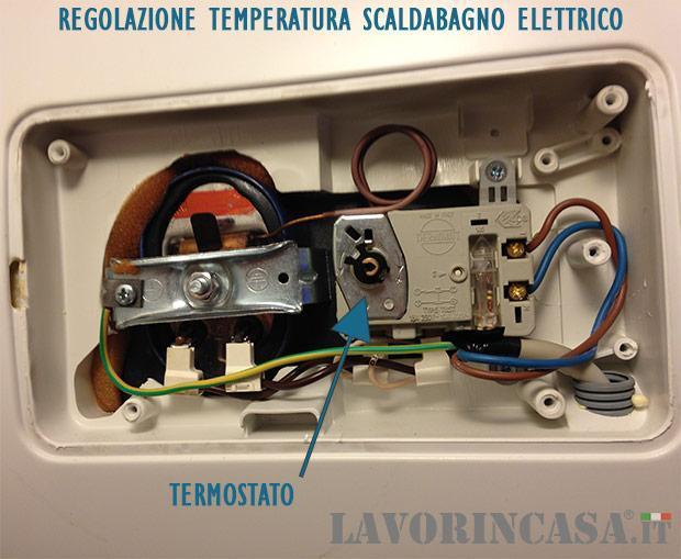 Manutenzione dello scaldabagno - Scalda bagno elettrico ...