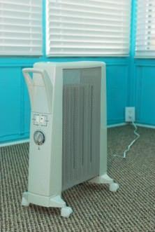 eccessiva temperatura secca l'aria