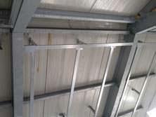 copertura in acciaio edificio