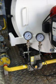 tubi gas metano manometri