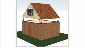 Come sollevare un tetto