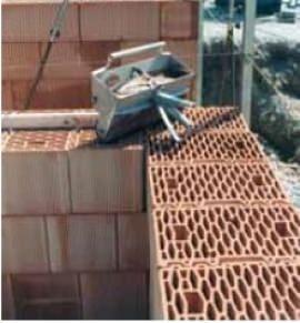 Murature con blocchi rettificati e malta