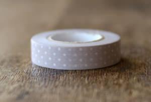 washi tape a pois