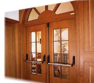 Porta tagliafuoco in legno Petrolcamrei