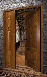 Porta tagliafuoco in legno Novoferm