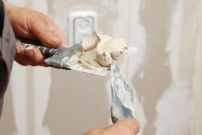 stucco per rasare i giunti tra le lastre in cartongesso