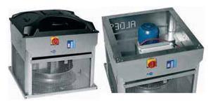 Aldes: ventilatore estrazione fumi a torrino Velone F400