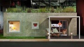 Casa in canapa e legno