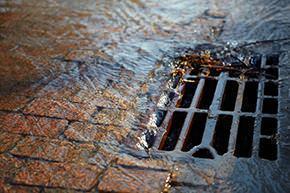 griglia per raccolta acque piovane