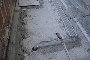 sistema di raccolta acque meteoriche con elemento in polietilene