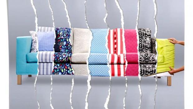 Foulard Per Divani Ikea.Ricoprire Il Divano