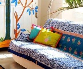 Arabesque blu, Lisa Corti