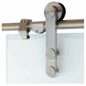 Porte scorrevoli su binario esterno in vetro - Porte scorrevoli con binario ...