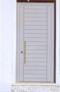 porta di sicurezza con rivestimento