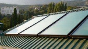 Collettore Solare fatto in casa