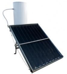 pannello e boiler solare