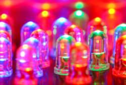 Lampadine led colorate