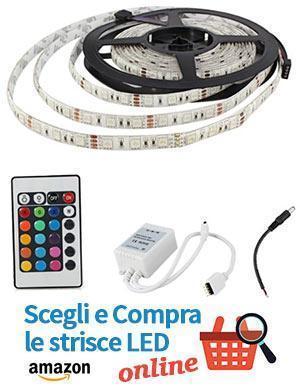 Scegli e Compra strisce LED on-line