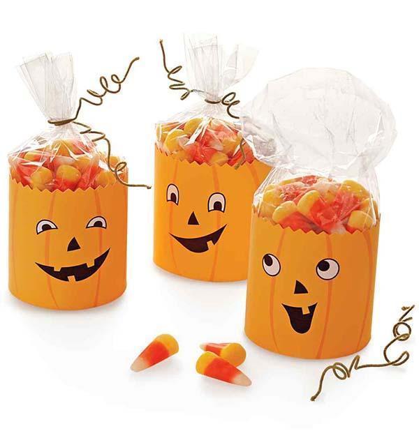 Sacchetti porta dolcetti per Halloween