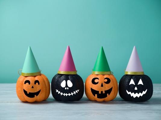 Zucche spiritose per Halloween