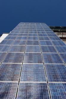 facciata fotovoltaica condominio