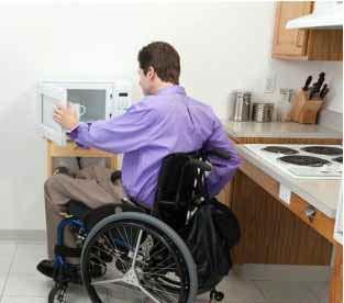 Un angolo cucina adeguato al disabile