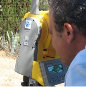Un rilevamento mediante stazione totale laser di precisione